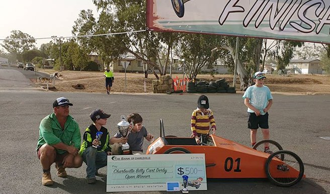 Charleville Billy Cart Race winners