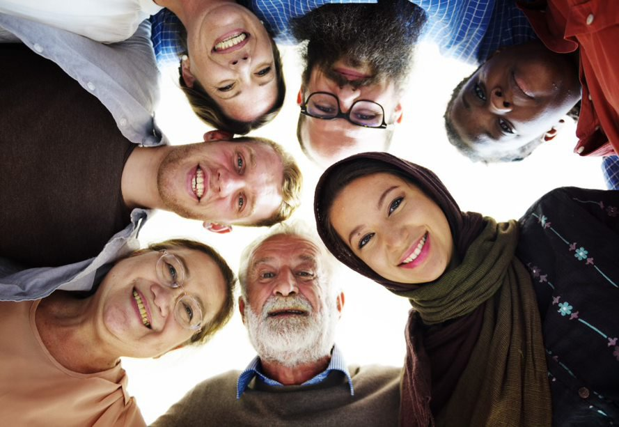 diverse group age and culture